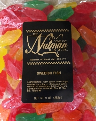 Swedish fish assorted flavors 9 oz the nutman for Assorted swedish fish